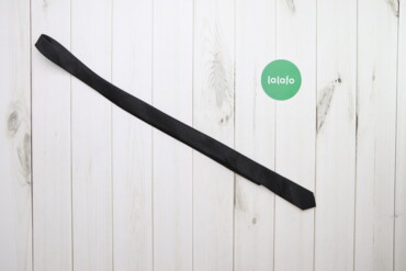 Аксессуары - Украина: Чоловіча тонка краватка Cedarwood State    Колір: чорний Довжина: 137