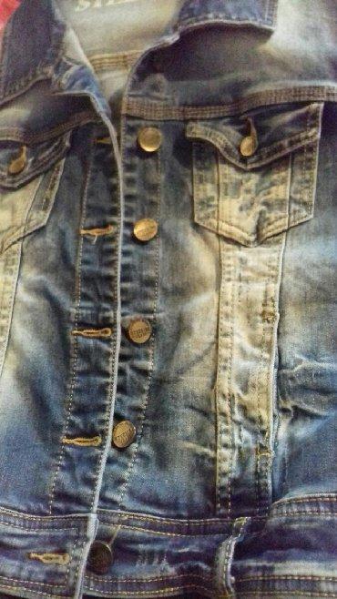 детская джинсовая куртка в Кыргызстан: Джинсовая жилетка. Новая