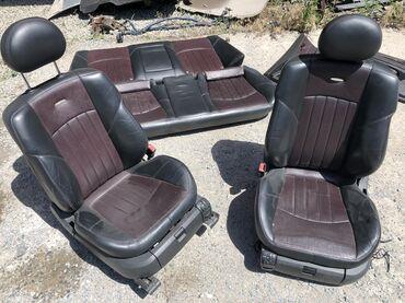 Продам салон с Мерседеса w211 AMG подогрев обдув передних