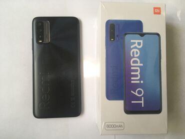 Xiaomi Redmi 9T | 128 ГБ | Серый | Гарантия, Сенсорный, Отпечаток пальца