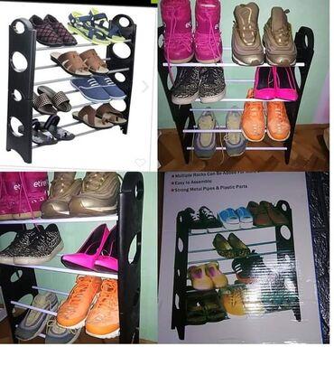 Stalak - Srbija: Cipelarnik za Vašu obuću na 4 nivoaCENA 1000Imate veliki broj cipela