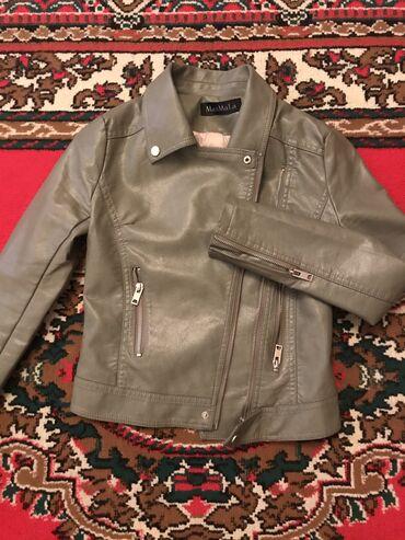 Женская кожаная куртка . Покупала в Brand Mix за 2300с 2019году, одела