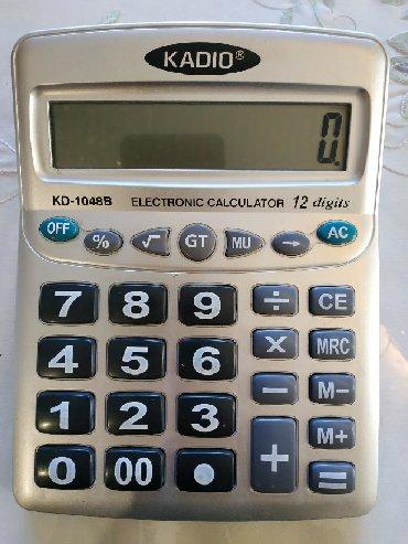Большой калькулятор. Почти новый. 5 мес пользования. Для торговлиТел