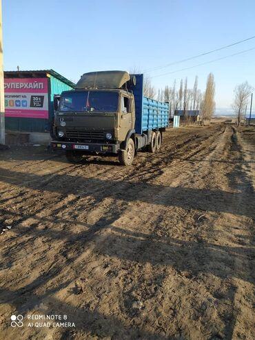 купить прицепы в Кыргызстан: Срочно продаю или меняю Камаз с прицепом в хорошем состоянии.  Камаз н