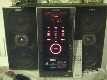 Bakı şəhərində Sony musiqi merkezi satiram hecbir problemi yoxdur sadece disk yeri