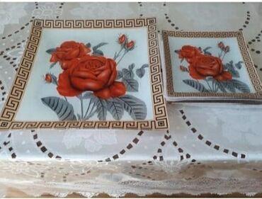 Tort qabı ve 6 bosqabi ile birge tezediler 15 azn