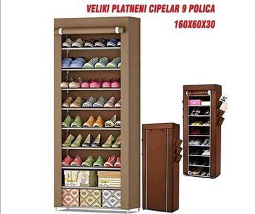 2.890 dinPlatneni cipelar PerfectPogodan za sve vrste obuce. Sklapanje