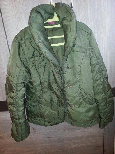 ženska jakna, kraća,moderna, topla, bez oštećenja, jako malo nošena, m - Vrsac