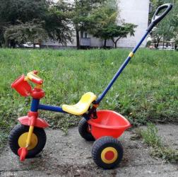 Deciji tricikl - guralica, koriscen par puta - Beograd