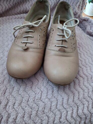 Personalni proizvodi - Srbija: Ženske cipele marke Rieker,krem boje,odlično očuvane,moderne i slabo