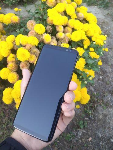 samsung galaxy c7 в Кыргызстан: Б/у Samsung Galaxy S8 64 ГБ Черный