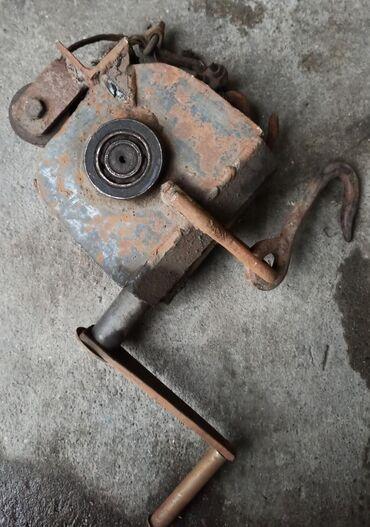 Инструменты для авто в Бишкек: Лебёдка. Грузоподъёмность от 1 тн до 1,2 тн