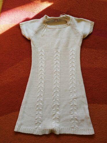 Pletena tunika za devojčice. Šaljem i preporučeno zbog nižeg PTT