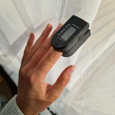 пульсоксиметр бишкек in Кыргызстан | ПУЛЬСОКСИМЕТРЫ: Продаю пульсоксиметр  Плотно охватывает палец. Точность 100%. Для меди