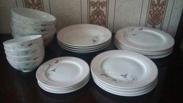 Новый набор посуды(все по 4штуки)