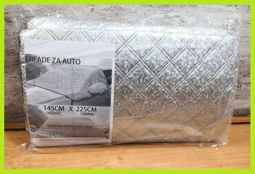 Cerada prekrivač za šoferku bočna stakla i retrovizore XL Cerada