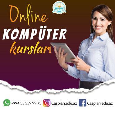 Kompüter kursları   Microsoft Windows, Microsoft Office   Fərdi, Qrup