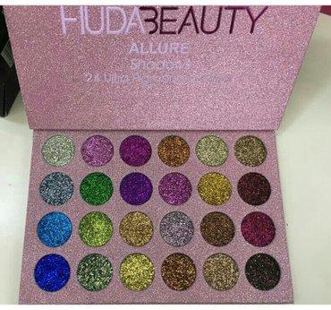 Bakı şəhərində Huda... Goz ucun glitter paleti