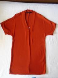 Zara tunika/haljina intenzivne cigla boje, nova ili kao nova, samo - Belgrade