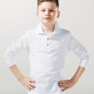 РАСПРОДАЖА  Детские белые батники с длинным рукавом за 500сом  -------