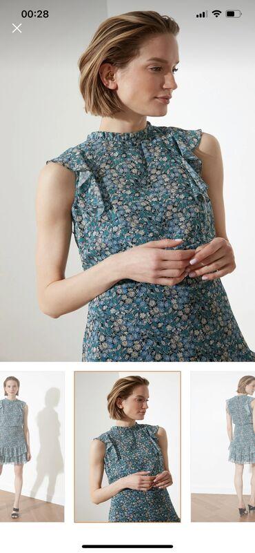 Новое шифоновое платье, качество и пошив великолепное! Размер «L» под