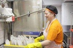 Требуется посудомойщица в компанию в Бишкек