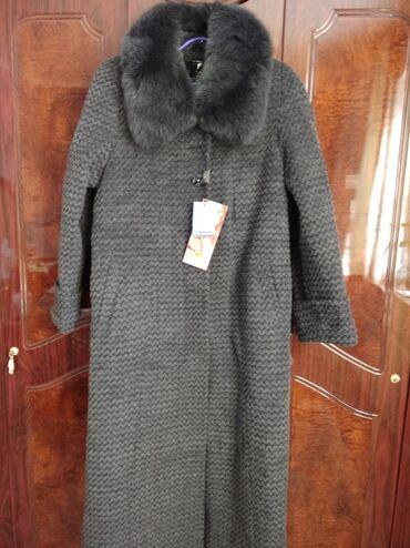 пальто лама в Кыргызстан: Продается лама-пальто. Натуральное, новое. Размер XL. Воротник и