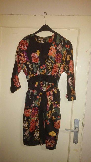 H&m satenska haljina vel s, duzine 93cm struk 34cm - Nis