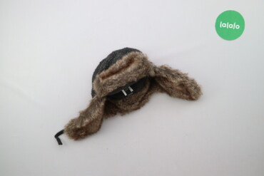 Жіноча шапка-вуханка Mango, One Size    Напівобхват голови: 24 см Висо