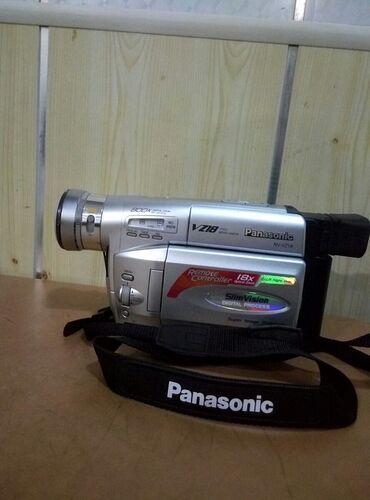 panasonic nv gs60 в Азербайджан: Kamera satilir Panasonic nv-vz18  ishlek veziyyete,adaptoruda var
