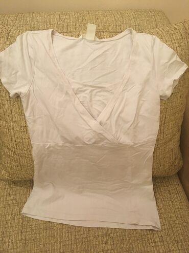Majice komada - Srbija: Majica za dojenje bledo roze vel Smalo nosena, u sjajnom stanjupopust
