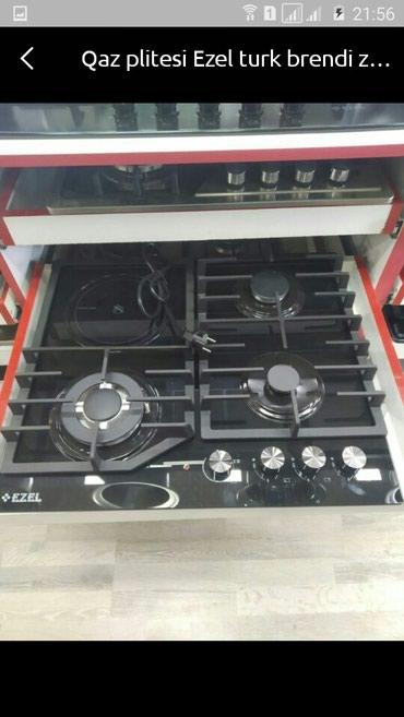 Bakı şəhərində Elektrik plite Ezel turk istehsali 1 il zemanetle catdirilma var