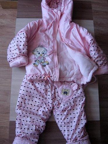 детские куртки комбинезоны в Кыргызстан: Продаю детский зимний комбинезон-костюм в идеальном состоянии. разм.