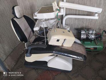 Электроника - Красная Речка: Продаю стом. установку все работает исправно есть стул компрессор