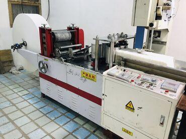 Действующий бизнес - оборудование (станок) для производства бумажных