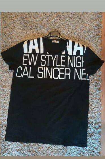 Muška odeća | Velika Plana: Crna majica muska, velicine: L,XL,XXLSiva majica muska, velicine: M