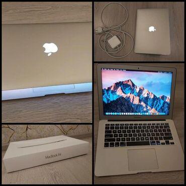 MacBook Air 2017 modeli. Qiymeti 1200 azn.8 aydir alinib. Yeni