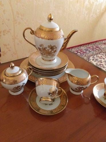 bowqab - Azərbaycan: Cayni servis tezedi. 6 eded bowqab 1 tort qabi. Pesok qabi cawkka