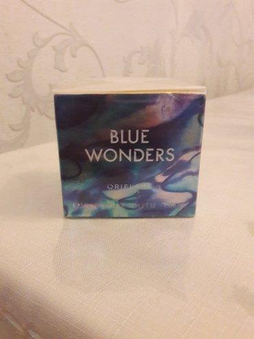 Oriflame. Blue Wonders ətir. 50 ml