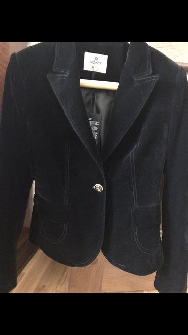 Шикарный бархатный пиджак!!!! новый!!!! размер 42/44 в Бишкек