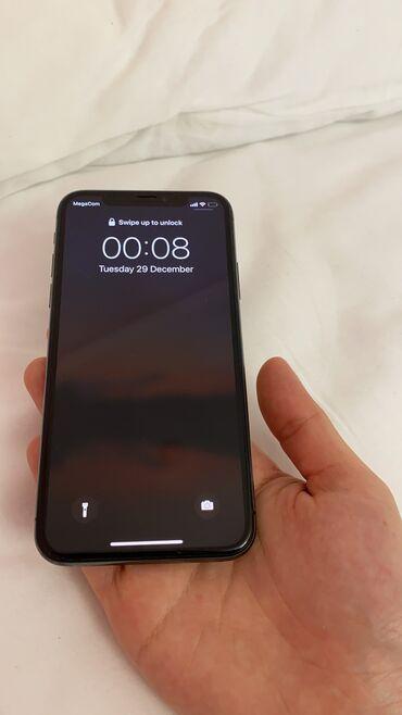 Apple Iphone - Бишкек: Б/У iPhone X 64 ГБ Черный