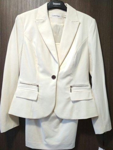 Классический юбочный костюм от calvin klein в Лебединовка