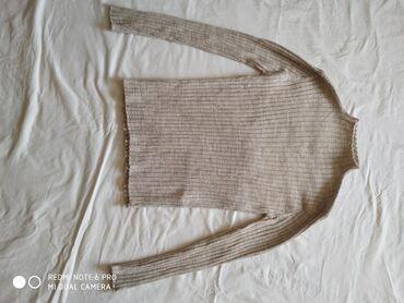 полосатая туника в Кыргызстан: Очень стильная кофта бежевого цвета, размер 46- 300сом.Кофточка