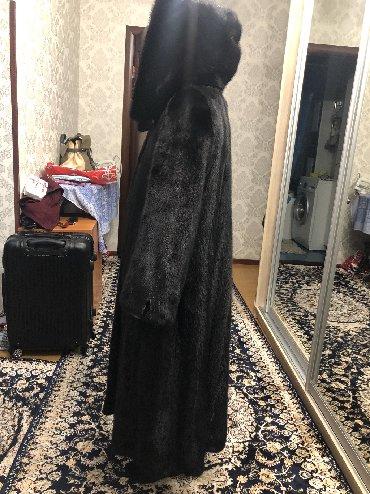 шикарная норковая шуба в Кыргызстан: Новая норковая шуба, шикарный цельный мех. Ошиблись с размером. Mink