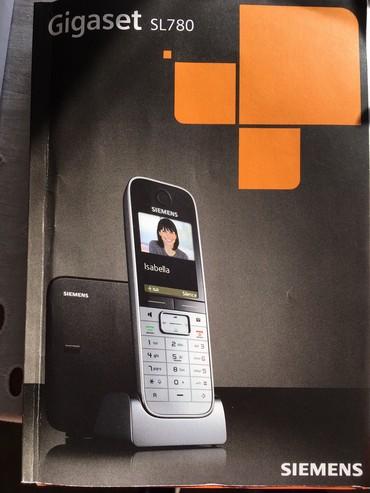 Nov bežični telefon Simens Gigaset SL 780
