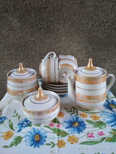 Чайный сервиз на 4 персоны. в Бишкек