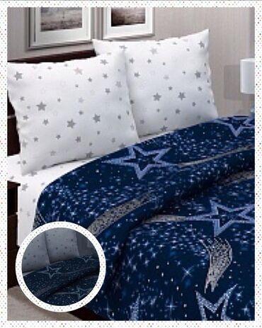 Комплект постельного белья с отражающими элементами (светится в темнот