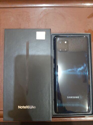 Б/у Samsung Note 10 Lite 8 ГБ Черный