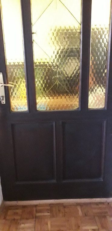 Kuća i bašta - Loznica: Ulazna vrata puno drvo./bez stoka/. 90x210. uvelicajte slike