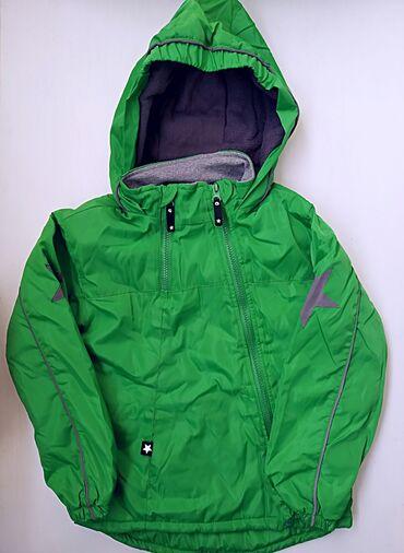Верхняя одежда в Кыргызстан: Новая Демисезонная куртка на ребенка 4-5,5 летВнутри утеплена флисом